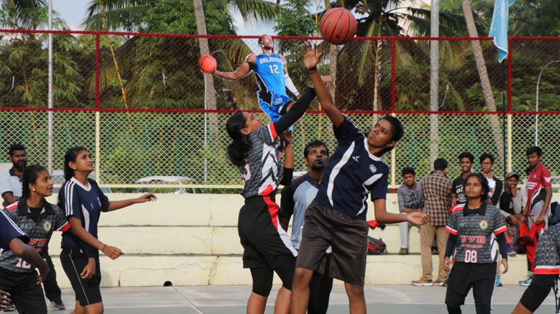 CBSE South Zone Sahodaya Basketball Tournament